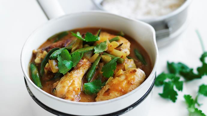 Peri peri coconut chicken curry