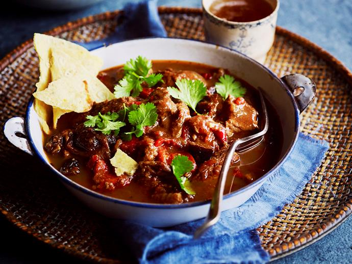"This spicy and flavoursome **[lamb birria](http://www.womensweeklyfood.com.au/recipes/lamb-birria-28963|target=""_blank"")** will excite your taste buds! Full of authentic spicy Mexican flavours, this lamb stew will have you coming back for more!"