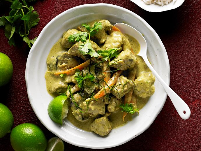 "Hearty, warming and packed full of flavour, this delicious [pork and lemongrass curry](https://www.womensweeklyfood.com.au/recipes/slow-cooker-pork-and-lemon-grass-curry-28970|target=""_blank"") is the easiest way you'll make an authentic Asian style curry at home. Simply pop all the ingredients in the slow-cooker, and let the magic happen."