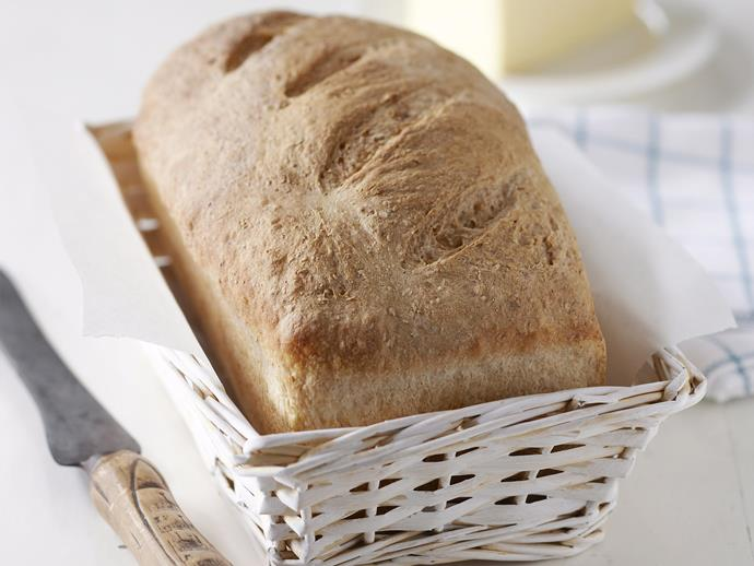 "**[Whole wheat bread](https://www.womensweeklyfood.com.au/recipes/whole-wheat-bread-6591|target=""_blank"")**"