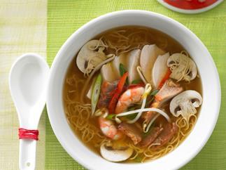 Combination long soup