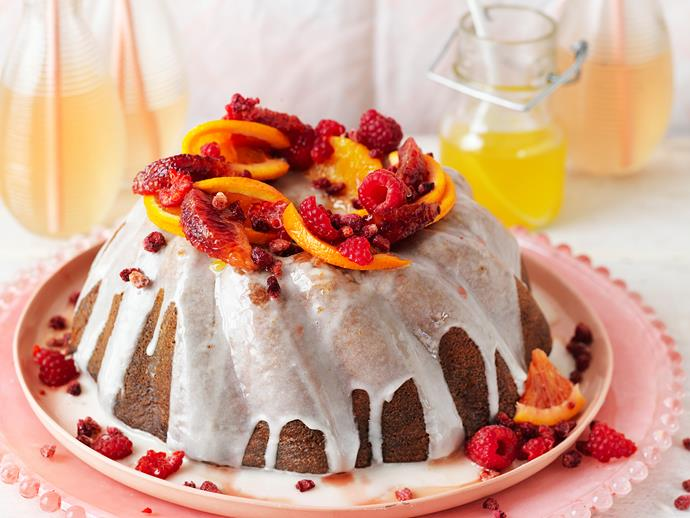 "Drizzled with a creamy yoghurt topping and sticky orange syrup, this [honey muscat syrup cake](https://www.womensweeklyfood.com.au/recipes/honey-muscat-syrup-cake-29008|target=""_blank"") is simply irresistible! Enjoy a little slice of heaven with your morning cuppa."