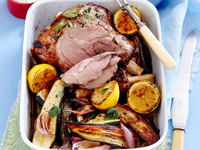 "[Greek lamb roast](http://www.foodtolove.com.au/recipes/greek-lamb-roast-27061|target=""_blank"")"