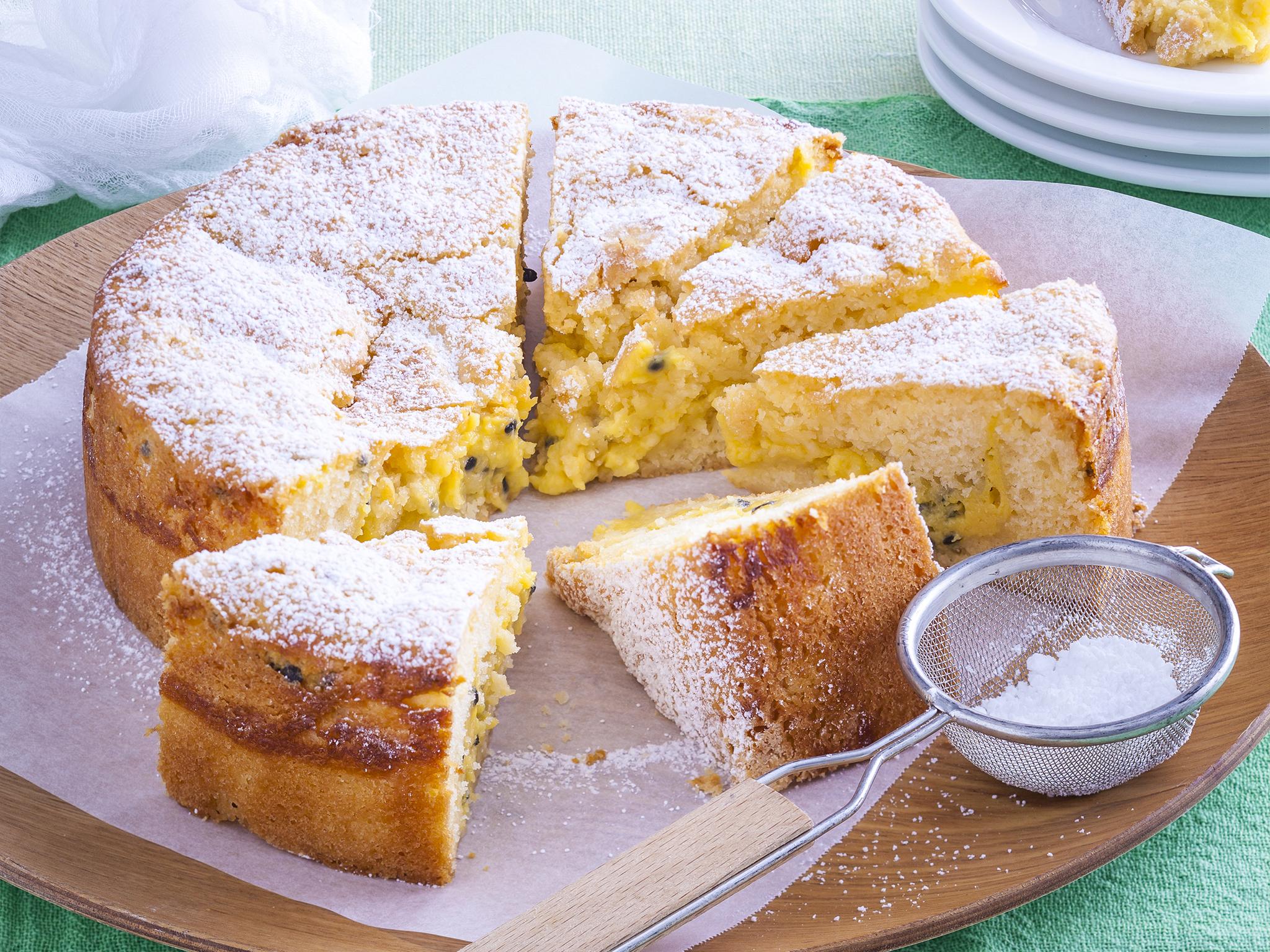 Carrot Orrange Passion Cake Recipe