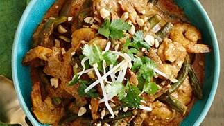 Malay prawn curry