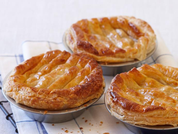 """**[Bolognaise pies](https://www.womensweeklyfood.com.au/recipes/bolognaise-pies-29345