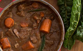 Simplest beef stew