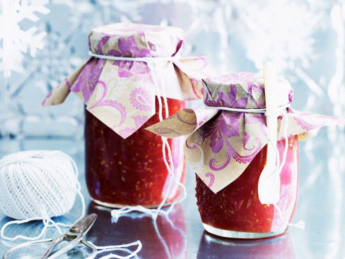"""Try this sweet but savoury **[passionfruit and tomato jam recipe.](http://www.foodtolove.com.au/recipes/passionfruit-and-tomato-jam-28454 target=""""_blank"""")**"""
