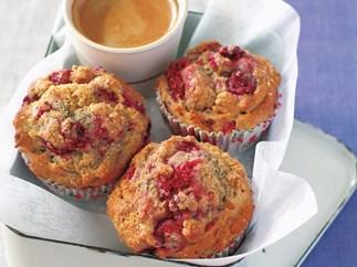 Gluten-free, dairy-free, Raspberry Muffins