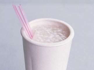 Spiced iced coffee milkshake