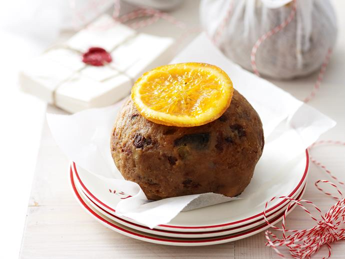 """**Mini boiled Christmas puddings** <br><br> Till the season for Christmas pudding! These delicious and rich mini boiled Christmas puddings are perfect for the festive season! <br><br> [Read the full recipe here.](http://www.foodtolove.com.au/recipes/mini-boiled-christmas-puddings-27200