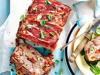Mediterranean meatloaf