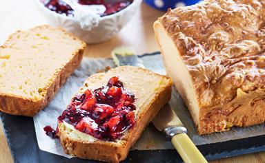 Easy cheesy bread