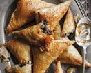 Lamb and spinach samosas