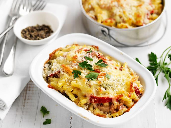 """For a hearty comfort food, try our **[tuna mac 'n' cheese recipe](https://www.womensweeklyfood.com.au/recipes/tuna-mac-n-cheese-29235
