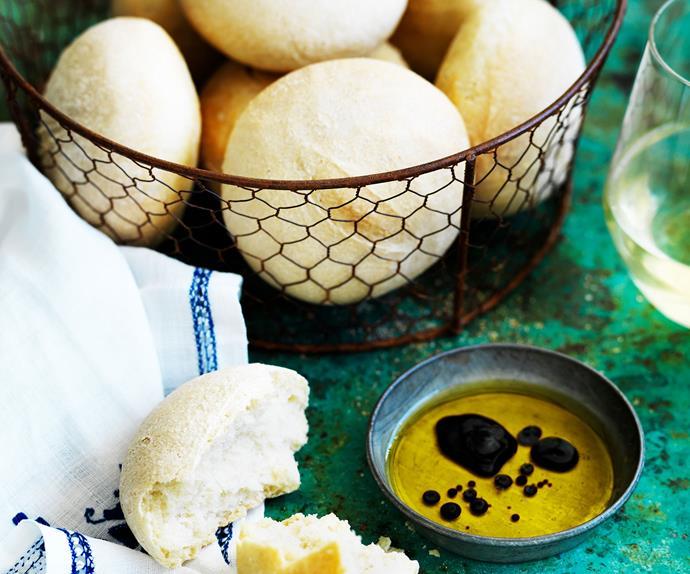 Ciabatta dinner rolls