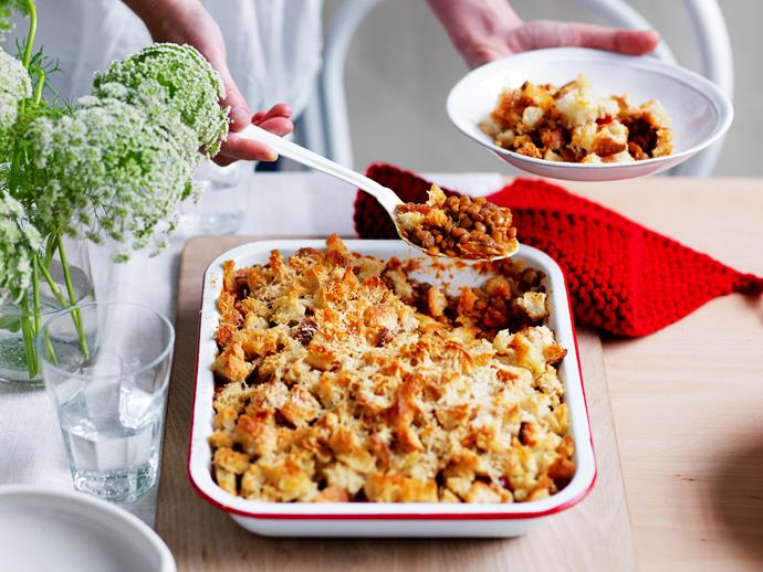"""This wholesome [lentil and tomato bake](https://www.womensweeklyfood.com.au/recipes/lentil-and-tomato-bake-29242