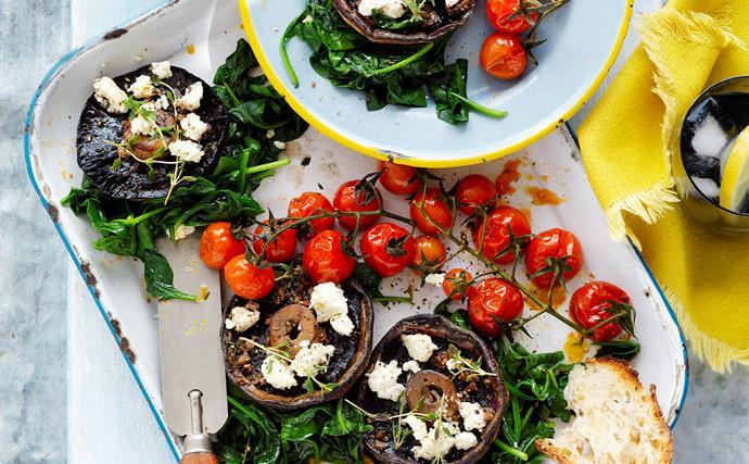 Vegetarian mushroom recipes