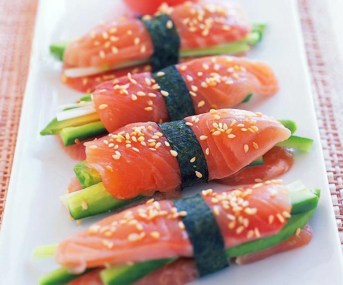sashimi stacks