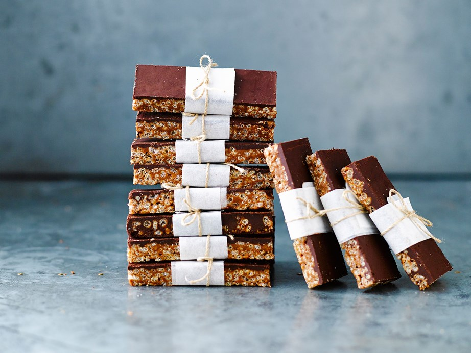 "**[No-bake mars bar slice](https://www.womensweeklyfood.com.au/recipes/no-bake-mars-bar-slice-29259|target=""_blank"")**  With crispy, puffed rice and that distinct mars bar decadency, stopping at just one slice is going to be near impossible."