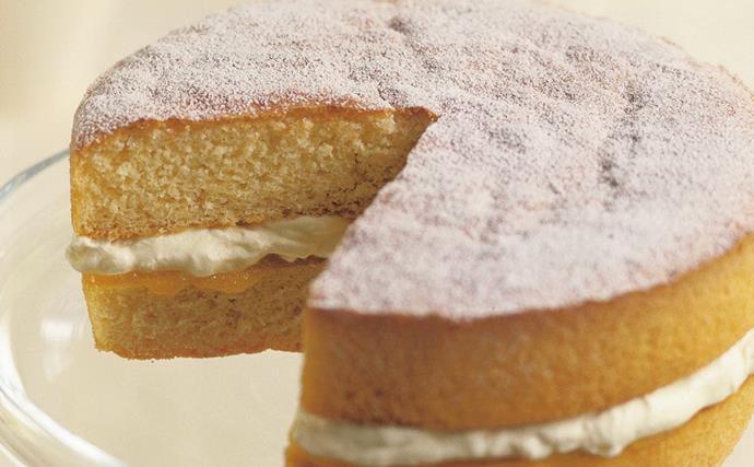best-ever sponge cake