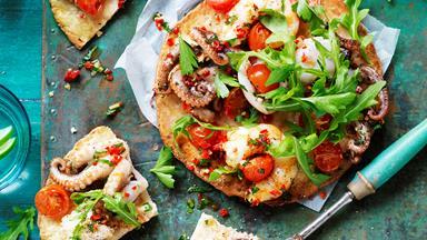 Wholegrain pizza marinara