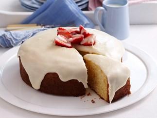 Vanilla buttercake
