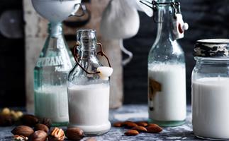Dairy-free nut milks