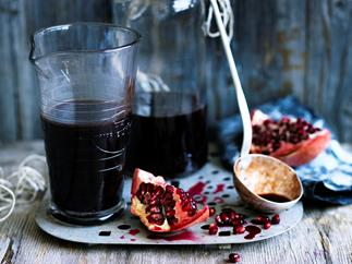 Date and rose pomegranate molasses