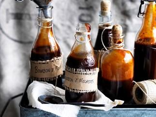 Bourbon molasses barbecue sauce