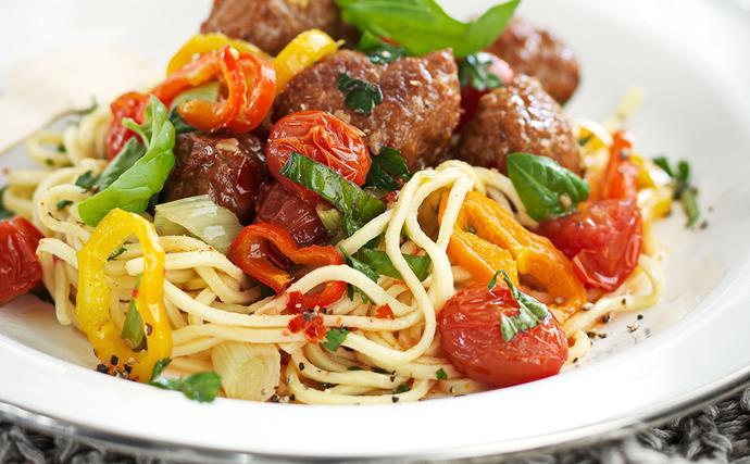 Meatball Salad recipe