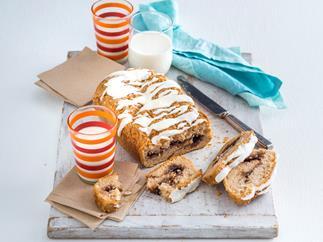 Gluten-free cinnamon swirl loaf