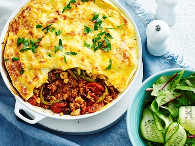 Springtime skillet lasagne