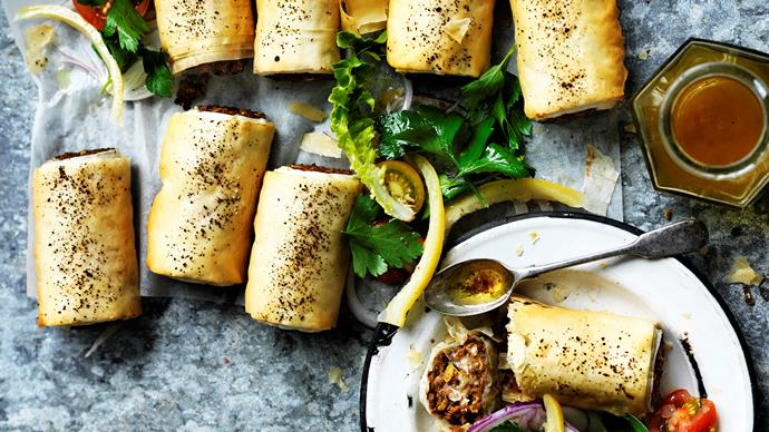 Our best homemade sausage rolls
