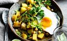 Sri Lankan potato and pea curry
