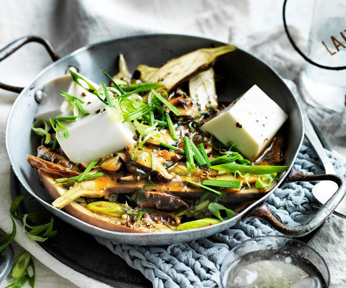 Eggplant ma po tofu