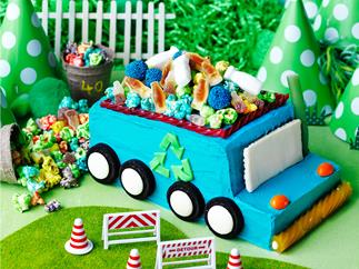 Lolly truck cake