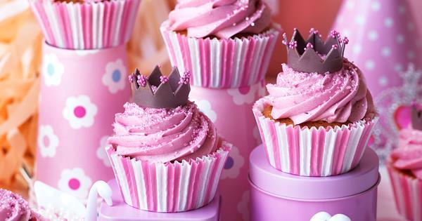 Littlest Princess Cupcakes