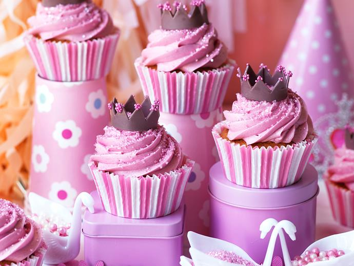 "[Little princess cupcakes](https://www.womensweeklyfood.com.au/recipes/littlest-princess-cupcakes-29541|target=""_blank"")"