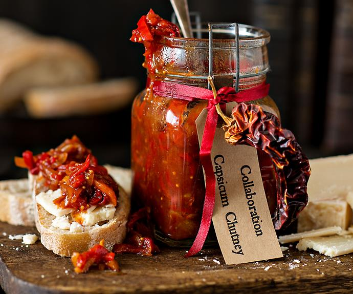 Capsicum Christmas chutney recipe