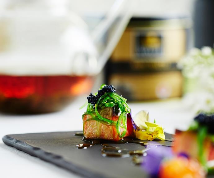 Ōra King salmon sashimi recipe