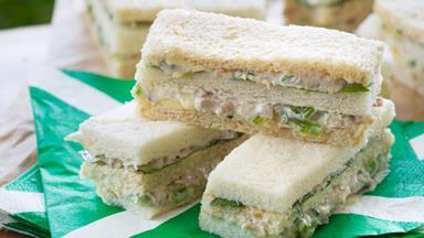 Chicken club sandwiches