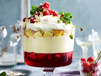 Classic Christmas trifle