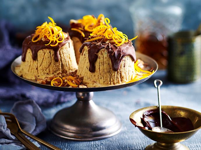 "**[Cheat's frozen Christmas puddings](https://www.womensweeklyfood.com.au/recipes/cheats-frozen-christmas-puddings-29558|target=""_blank"")**  These deliciously sweet frozen puddings are perfect for a hot Australian Christmas celebration. We'll show you the quick way to make these impressive desserts with minimal effort."
