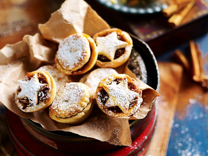 "Delight your family with these homemade [Christmas mince pies](https://www.womensweeklyfood.com.au/recipes/christmas-fig-pies-29559|target=""_blank""). We've combined figs, cranberries and raisins to create a wonderfully sweet filling for these beautiful tarts."