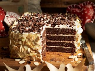 chocolate chestnut cake