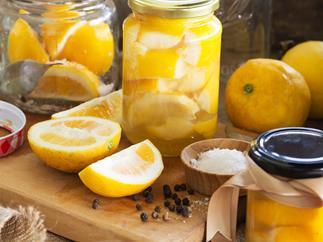 Perky preserved lemons