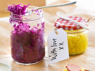 Sassy sauerkraut