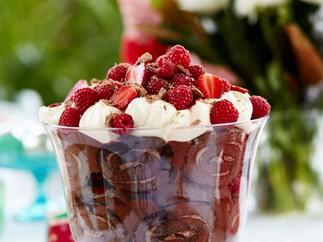 Julie Goodwin's chocolate trifle