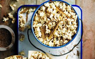 Chai-spiced popcorn